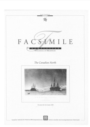 Facsimile the Canadian North